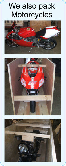 Motor Cycle Export Packing